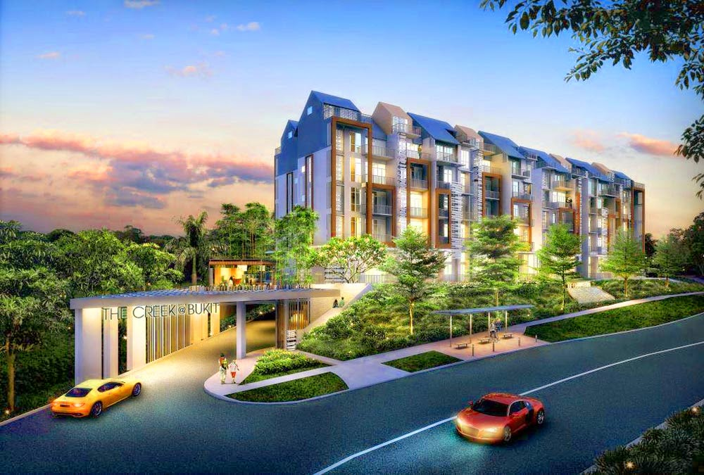 The Creek @ Bukit Price presents modern quality living at its best