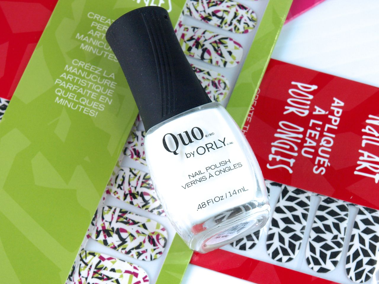 "Quo by Orly Water Transfer Nail Art in ""Mischief"": Review and Swatches"