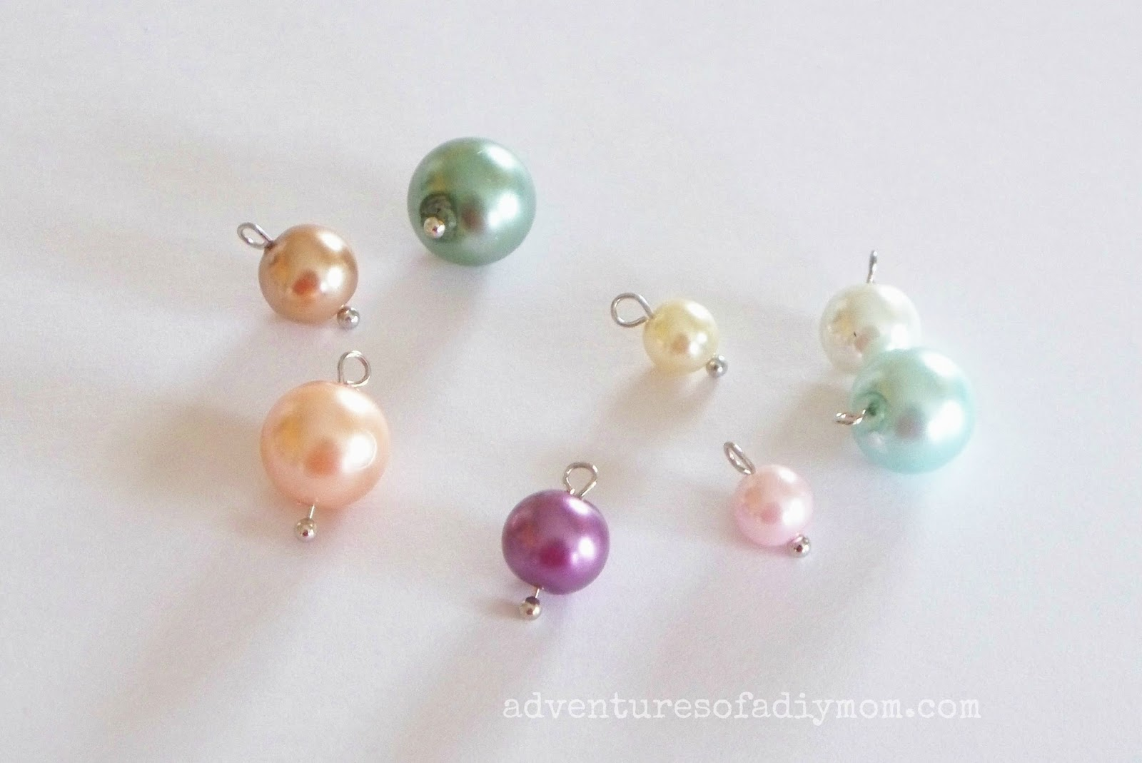 DIY Pearl Cluster Necklace Tutorial