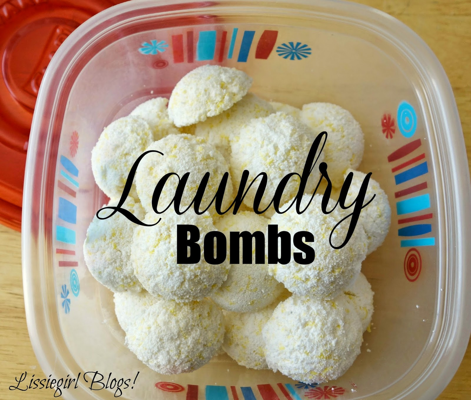 Frugal Friday Episode I: Laundry Bombs