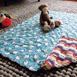 simple quilted playmat (3–5 hours)