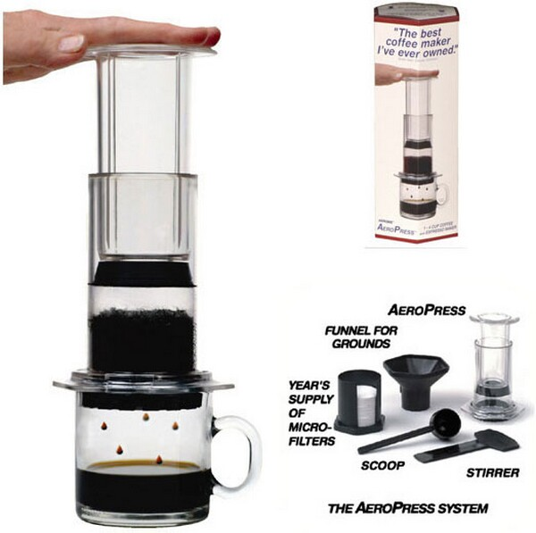 AeroPress Quick Coffee and Espresso Maker BonjourLife