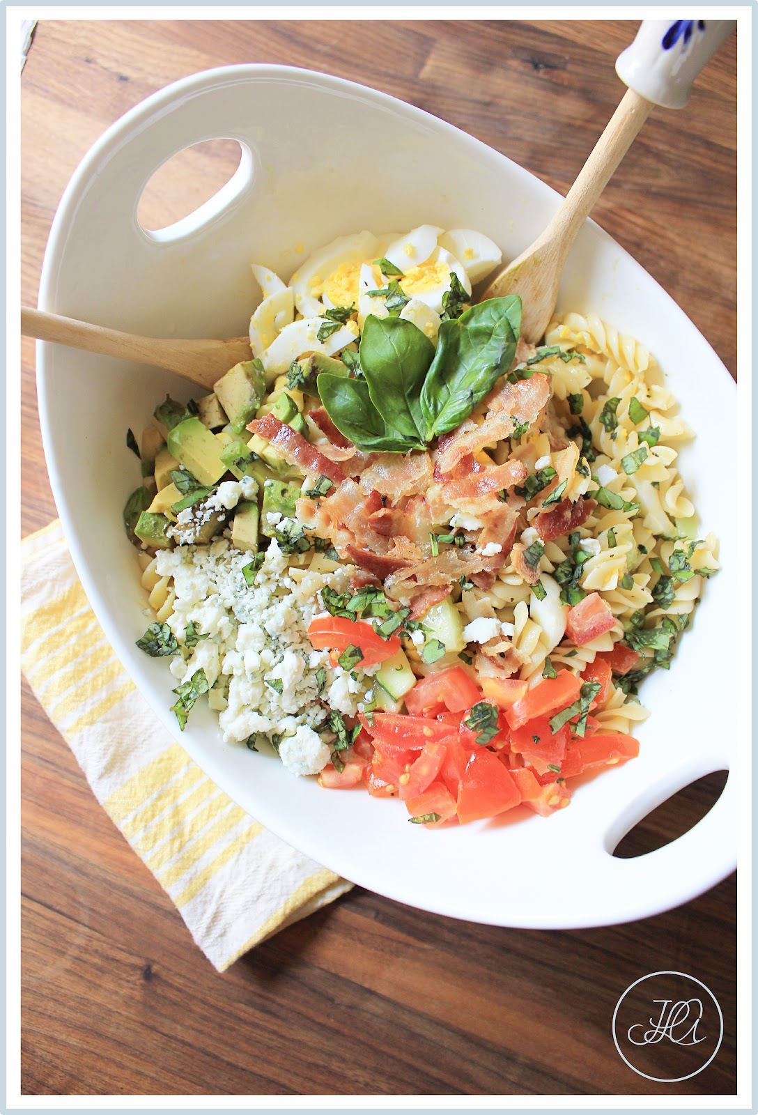 aBitterSweetWife: Spring Cobb Pasta Salad