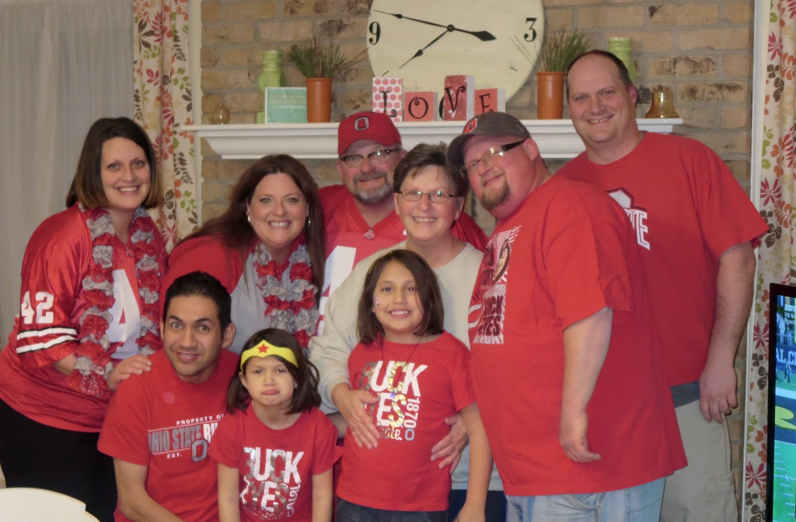 A Buckeye Crazy Family