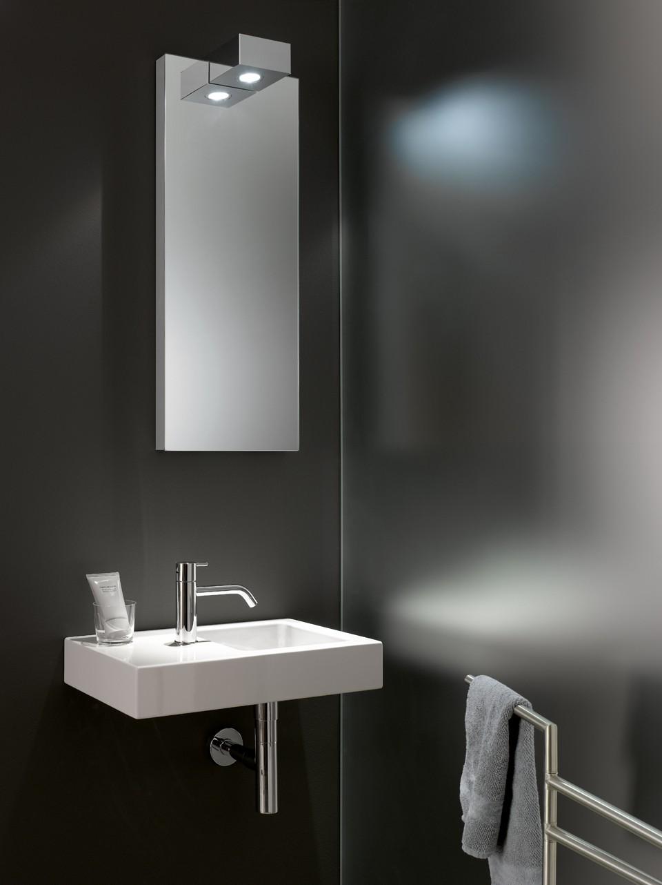 Genial Spiegel Mit Beleuchtung Gäste Wc