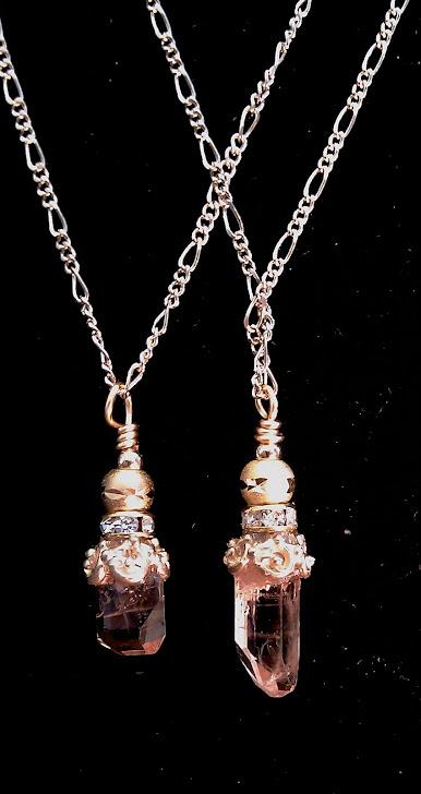 Champagne Topaz pendants