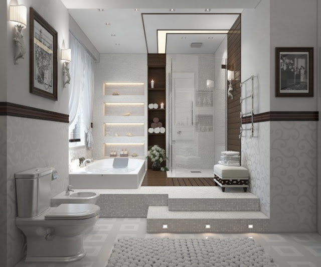Beautiful Salle De Bain Oriental Moderne Pictures - Awesome ...