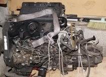 Bloc moteur-boite d'AX