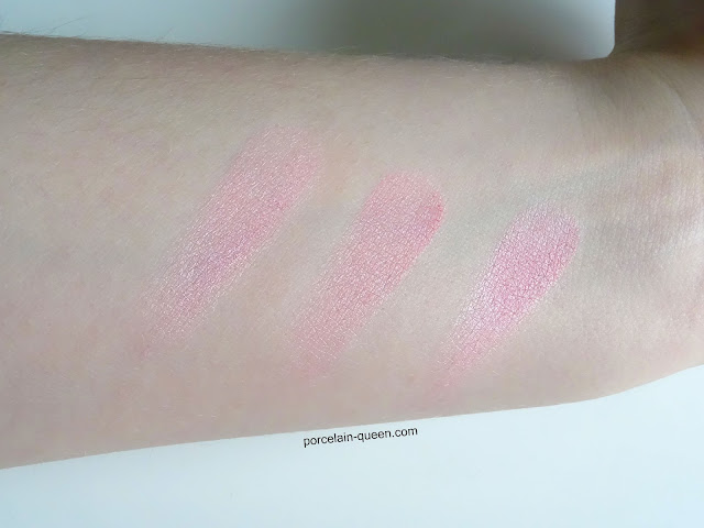 Swatch of Essence Pinky Flow Blush
