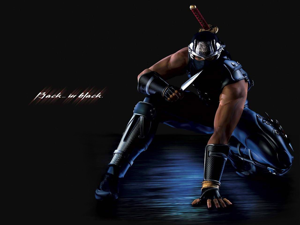 Black ninja wallpapers Funny Amazing Images