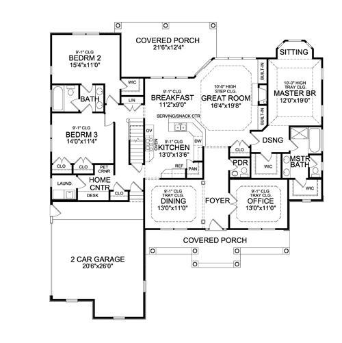 Planos casas modernas planos de casas 120 metros cuadrados for Diseno de casa de 120 metros cuadrados
