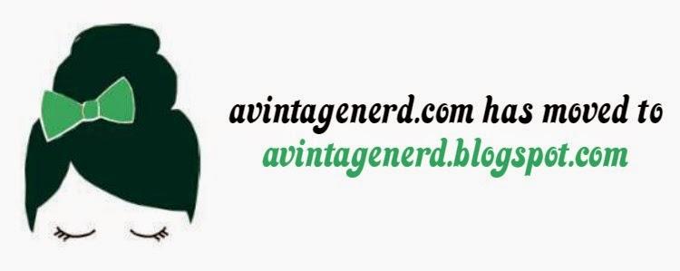 A Vintage Nerd, Vintage Blog, Retro Lifestyle Blog