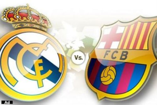 real madrid vs barcelona 2011 logo. arcelona fc vs real madrid