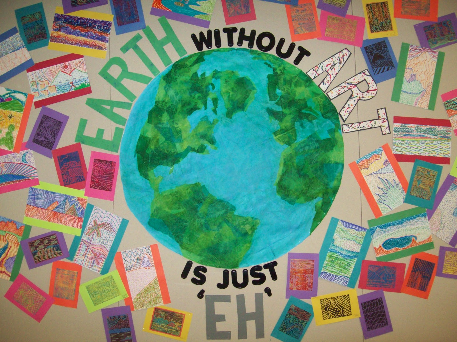 My Artful Nest Earth Without Art