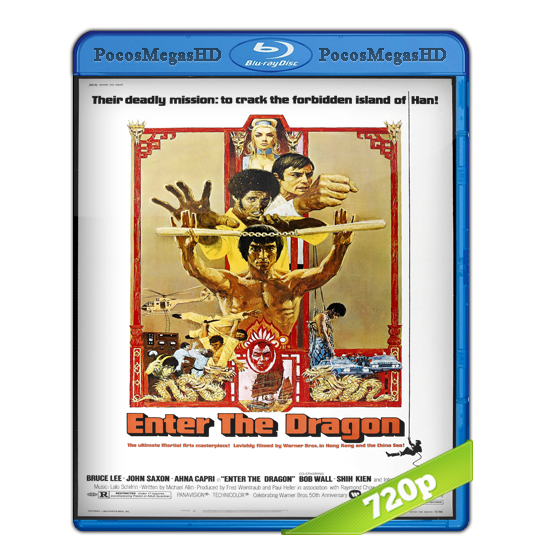 Operación Dragon (1973) BrRip 720p Dual Latino 5.1 – Ingles 5.1