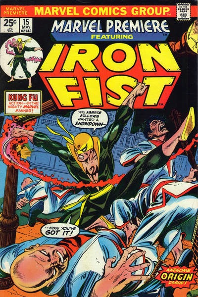 Marvel Premiere #15, the origin of Iron Fist