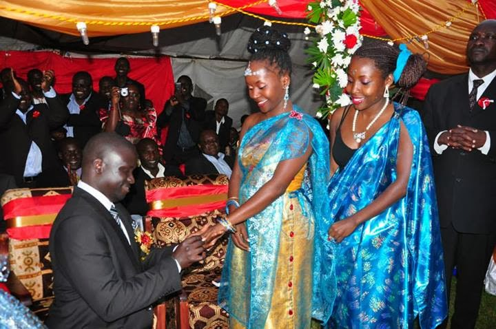 anne kansiime realw - Traditional Wedding Uganda