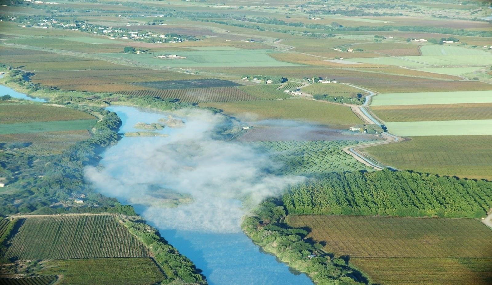 The Orange River in South