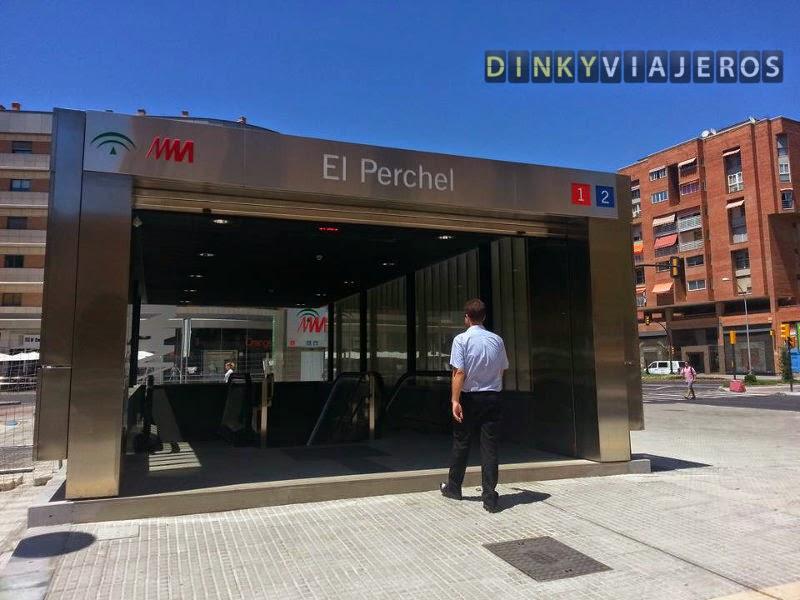 Metro Málaga. Estación El Perchel