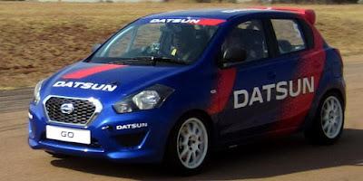 Great Datsun Go Rally at the Racecourse