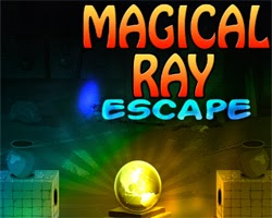 Juegos de Escape Magical Ray Escape