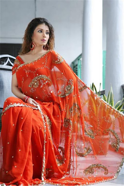 Fashionable Saree For party