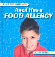 bookcover of Aneil Has a Food Allergy  by Jillian Powell