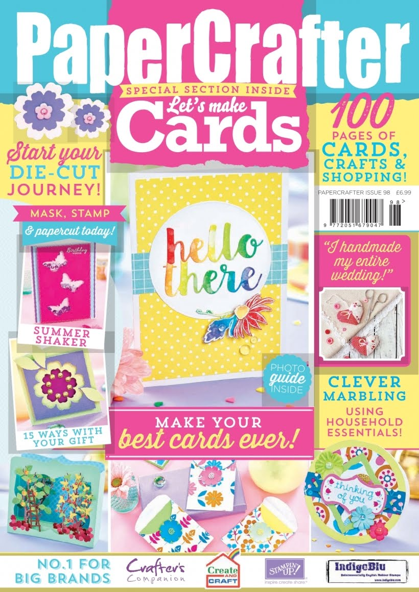 I Design For PaperCrafter Magazine