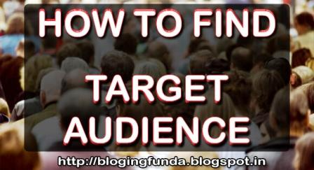 How to find target audience if you are doing business and want high conversion rate with low traffic. Read this small but very helpful eGuide created by BloggingFunda - A Community of Bloggers