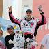 Elf en el podio del Rally Dakar 2013