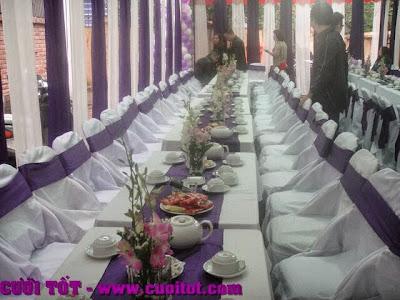 thuê bàn ghế đám cưới