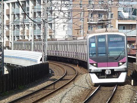 東京メトロ半蔵門線 田園都市線 準急 清澄白河行き 08系
