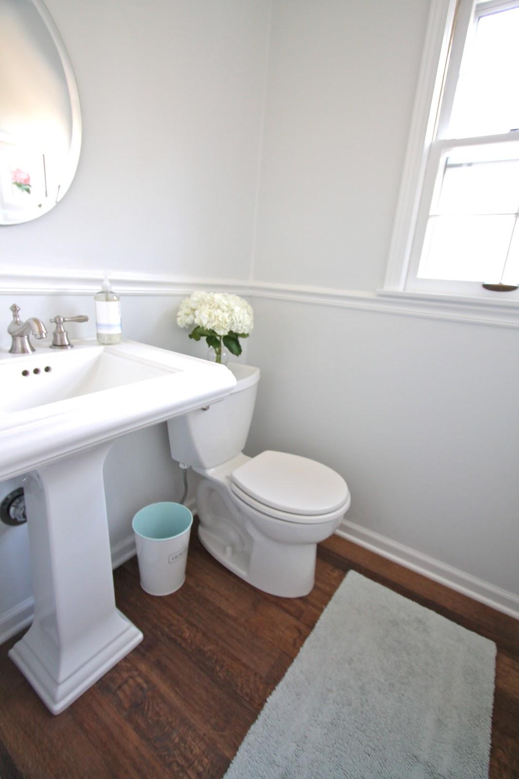 Diy bathroom remodel julie blanner for Redo bathroom sink