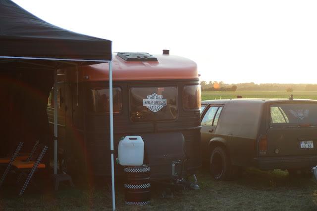 V8-Freunde Meerbusch Treffen 2013 Campground Harley-Davidson