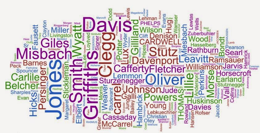 Isnt This Cool Graphic Is Called A Family Name Cloud You Can Make One For Your Too At Treeseek All It Takes Few Minutes