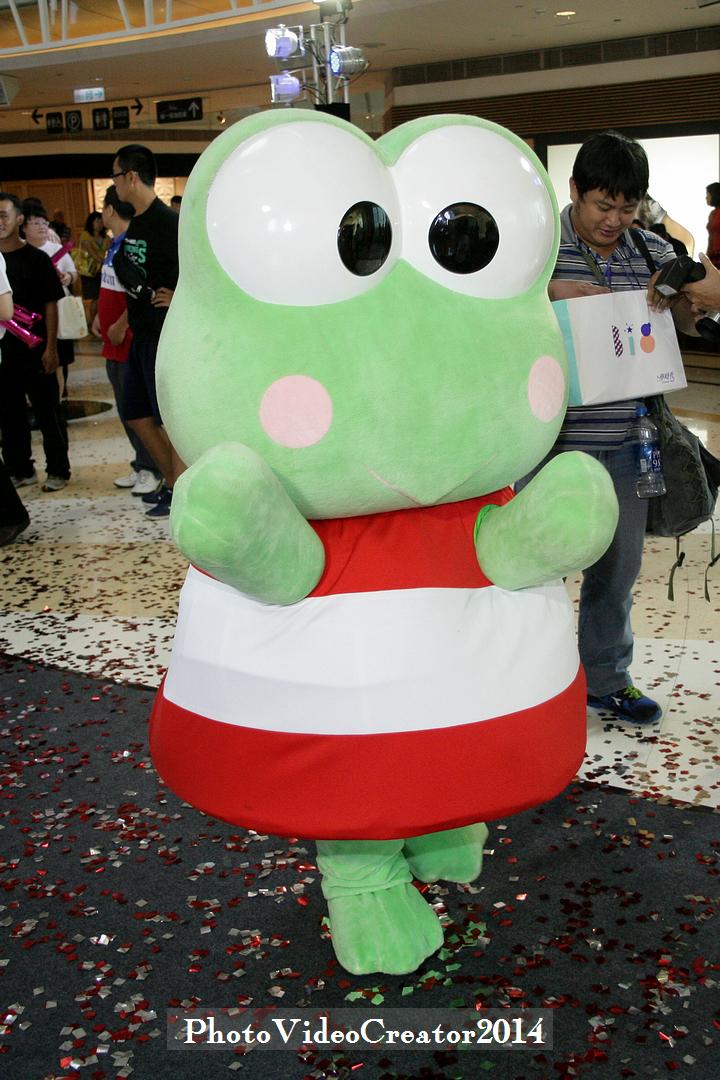 大眼蛙 要下班了, 喔, 真的超可愛的啦~