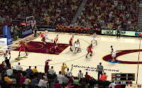 NBA 2K13 Cleveland Cavaliers Court Patch