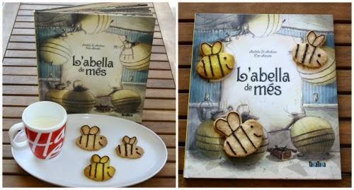 manualitat infantil fem galetes L'abella de més