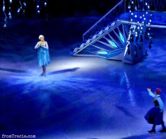 Elsa Frozen On Ice