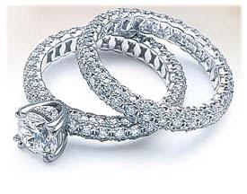 Women Accecoris Engagement Ring Vs Wedding Ring