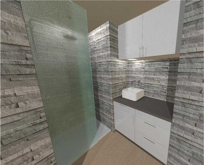 Ik ben eline haar gip 3d beelden interieur for Badkamer plannen in 3d