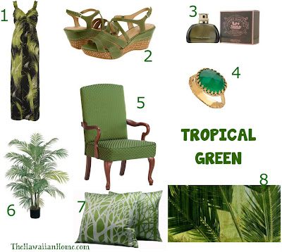 tropical green inspiration from the hawaiian home
