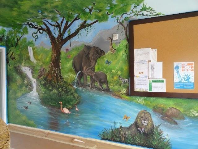 diy painted wall murals