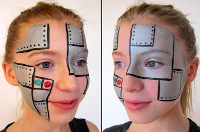 Robot ansigtssminke