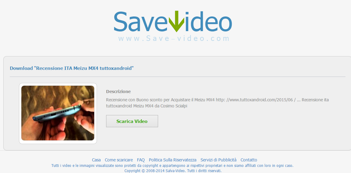 come scaricare video con copyright