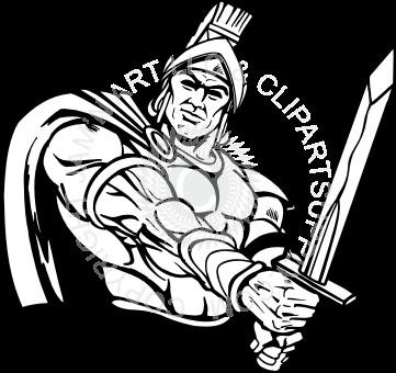 Desenho de Guerreiros