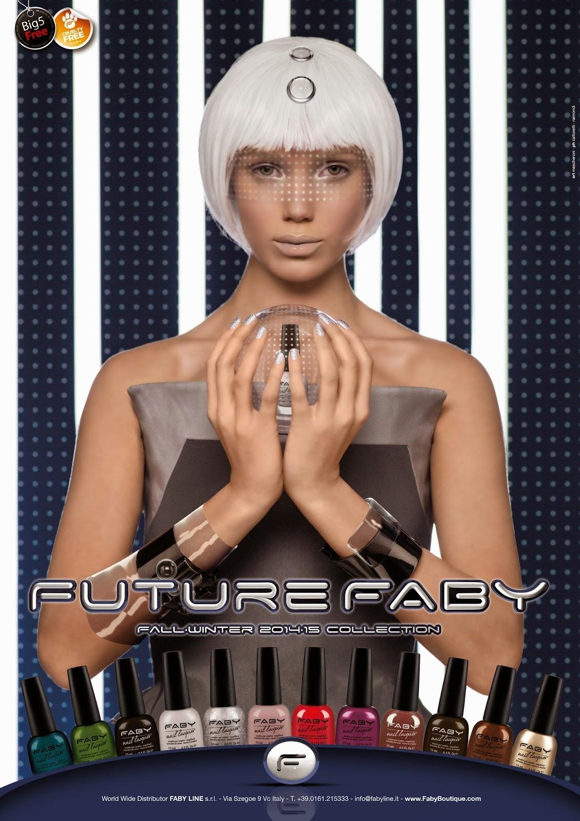 Collezione Future Faby: tutti gli swatch