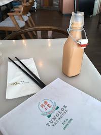 Tunglok Teahouse, Singapore Airport, HK Iced Milk Tea, 2019