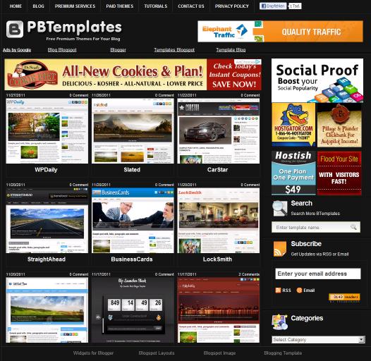 premium blogger tempaltes