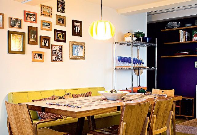 Banco Baú Sala De Jantar ~ Oficina de Arquitetura Banco na sala de jantar